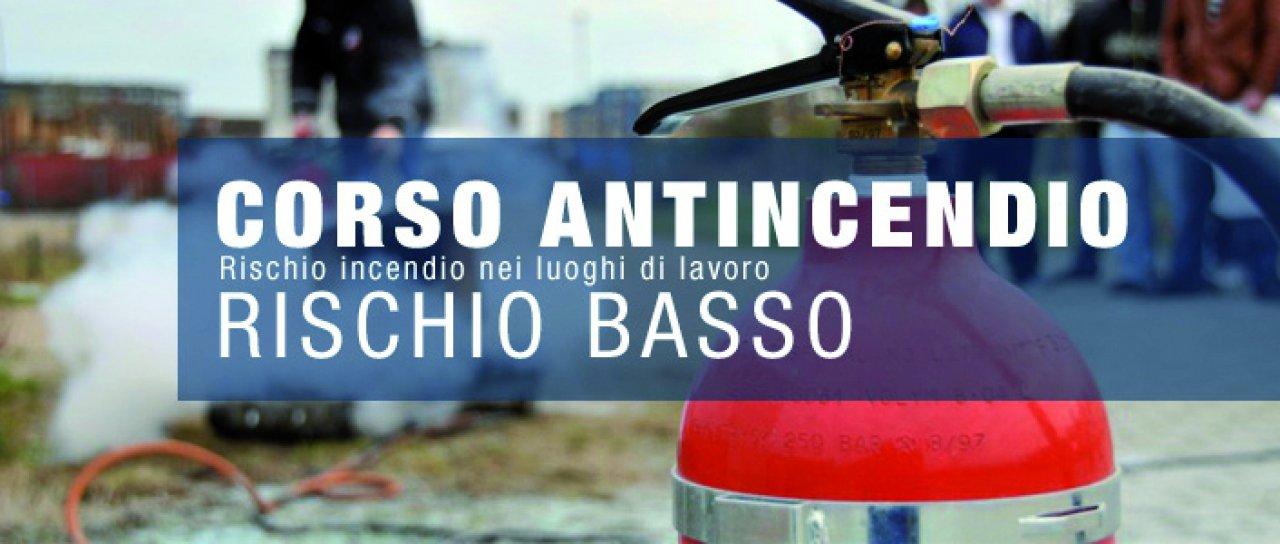 """Corso per addetto antincendio rischio """"Basso"""""""