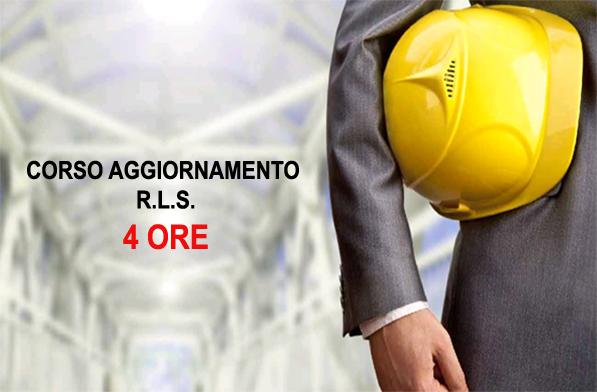 Corso aggiornamento RLS - 4 ore